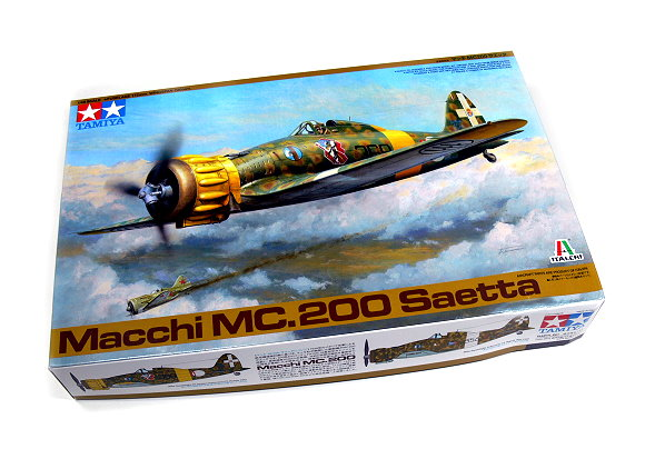 Tamiya Aircraft Model 1/48 Airplane Macchi MC.200 Saetta Scale Hobby 37007