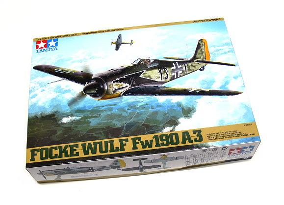 Tamiya Aircraft Model 1/48 Airplane Focke-Wulf Fw190 A-3 Scale Hobby 61037