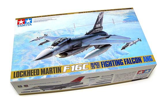 Tamiya Aircraft Model 1/48 Airplane F-16C Block 25/32 Aircraft Scale Hobby 61101