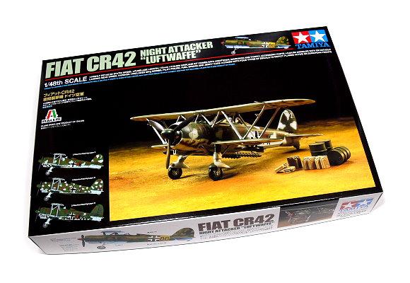 Tamiya Aircraft Model 1/48 Airplane Fiat CR42 Luftwaffe Scale Hobby 89722
