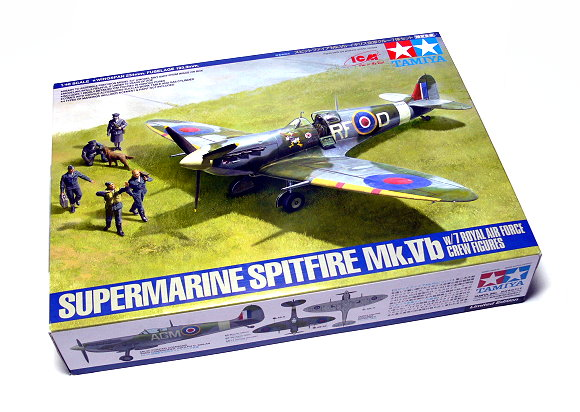 Tamiya Aircraft Model 1/48 Airplane Supermarine Spitfire Mk.Vb Scale Hobby 89730