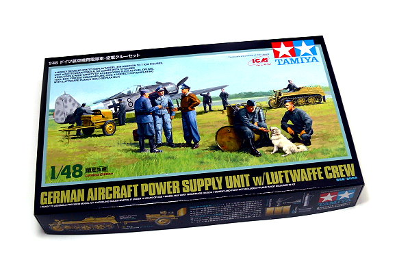 Tamiya Military Model 1/48 Aircraft Power Supply Unit Scale Hobby 89768