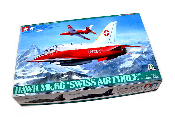 Tamiya Aircraft Model 1/48 Airplane Hawk Mk.66 Swiss Air Force Scale Hobby 89784