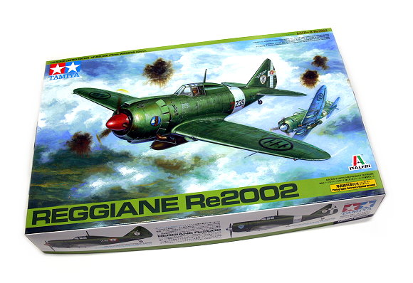 Tamiya Aircraft Model 1/48 Airplane Reggiane Re2002 Scale Hobby 89787