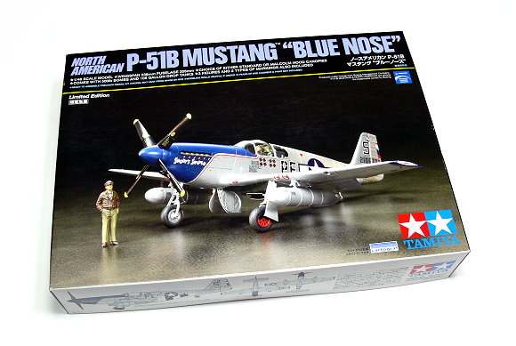 Tamiya Aircraft Model 1/48 Airplane P-51B MUSTANG BLUE NOSE Scale Hobby 92216