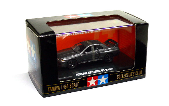 Tamiya Automotive Model 1/64 Car Nissan Skyline GT-R R32 Scale Hobby 23714