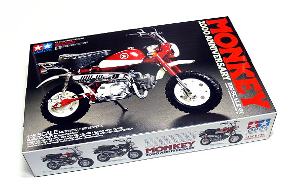 Tamiya Motorcycle Model 1/6 Motorbike Honda MONKEY (Big Scale) Scale Hobby 16030