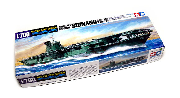 Tamiya Military Model 1/700 War Ship Aircraft Carrier SHINANO Scale Hobby 31215