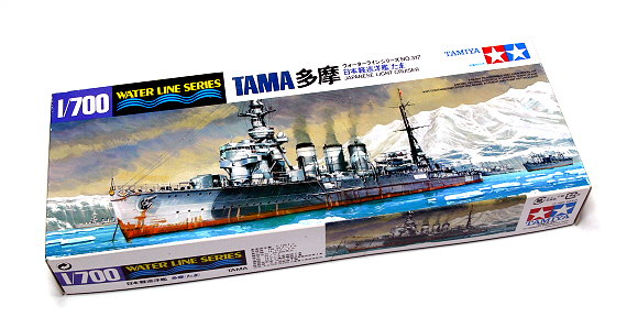 Tamiya Military Model 1/700 War Ship Japanese Light Cruiser TAMA Hobby 31317