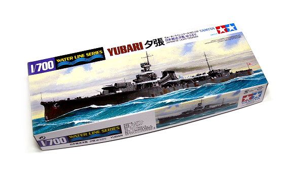 Tamiya Military Model 1/700 War Ship JAP. Light Cruiser YUBARI Scale Hobby 31319
