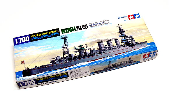 Tamiya Military Model 1/700 War Ship JAP. Light Cruiser KINU Scale Hobby 31321