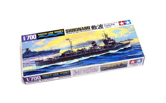 Tamiya Military Model 1/700 War Ship JAP. SHIKINAMI Destroyer Scale Hobby 31408