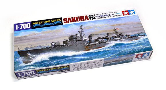 Tamiya Military Model 1/700 War Ship JAP. Navy Destroyer SAKURA Hobby 31429