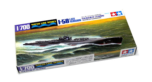 Tamiya Military Model 1/700 War Ship I-58 Japanese Submarine Hobby 31435