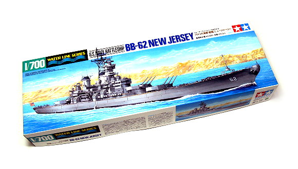 Tamiya Military Model 1/700 War Ship US Navy BB-62 NEW JERSEY Scale Hobby 31614
