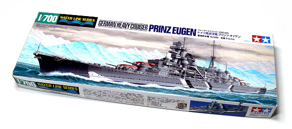 Tamiya Military Model 1/700 War Ship German Cruiser PRINEUGEN Scale Hobby 31805