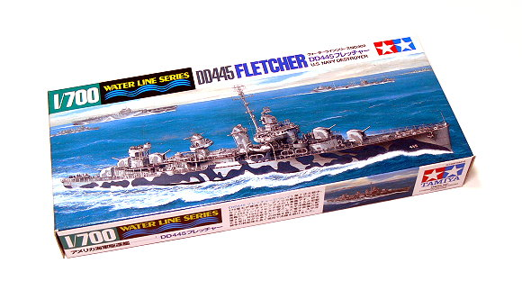 Tamiya Military Model 1/700 War Ship DD445 FLETCHER US Destroyer Hobby 31902