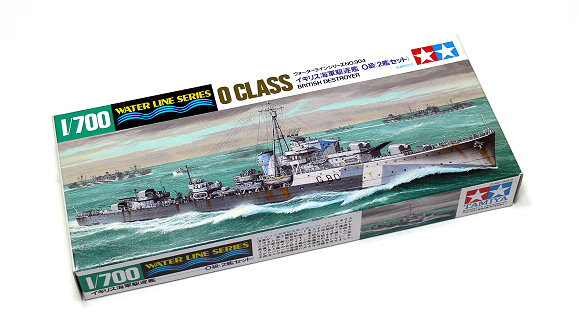 Tamiya Military Model 1/700 War Ship O Class British Destroyer Scale Hobby 31904
