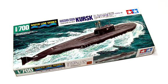 Tamiya Military Model 1/700 War Ship Russian SSGN OSCAR II KURSK Hobby 31906