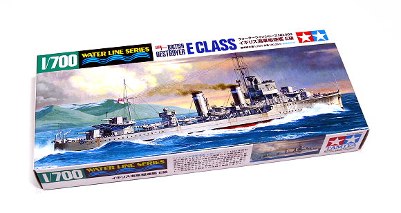 Tamiya Military Model 1/700 War Ship British E Class Destroyer Scale Hobby 31909