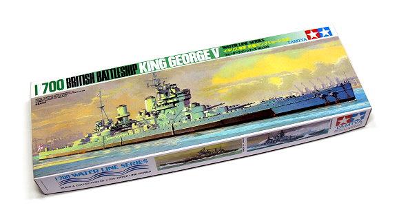 Tamiya Military Model 1/700 War Ship KING GEORGE V Battleship Scale Hobby 77525