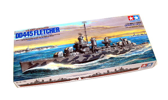 Tamiya Military Model 1/350 War Ship DD445 FLETCHER Destroyer Scale Hobby 78012