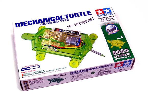 Tamiya ROBO Model Craft Mechanical Turtle Robot Hobby 71106