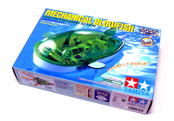 Tamiya ROBO Model Craft Mechanical Blowfish Robot Hobby 71114