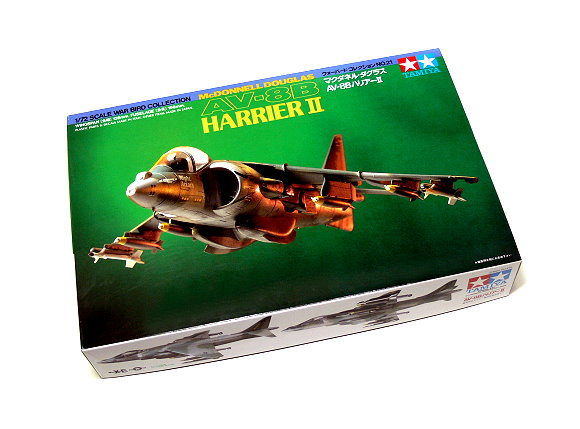 Tamiya Aircraft Model 1/72 Airplane AV-8B Harrier II Scale Hobby 60721