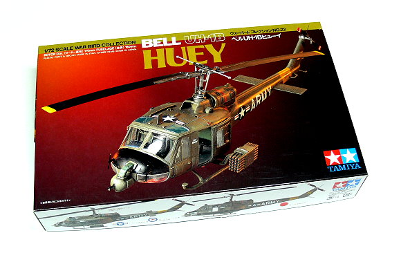 Tamiya-Helicopter-Model-1-72-BELL-UH-1B-HUEY-Scale-Hobby-60722