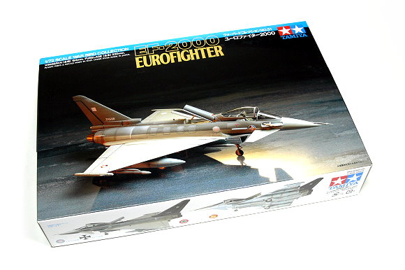 Tamiya Aircraft Model 1/72 Airplane EF-2000 EUROFIGHTER Scale Hobby 60731