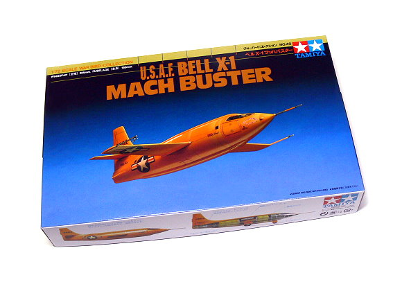 Tamiya Aircraft Model 1/72 Airplane USAF Bell X-1 MACH BUSTER Scale Hobby 60740