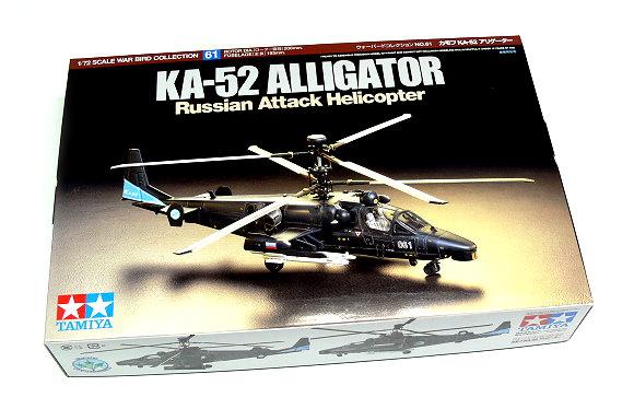 Tamiya Helicopter Model 1/72 Russian KA-52 ALLIGATOR Scale Hobby 60761