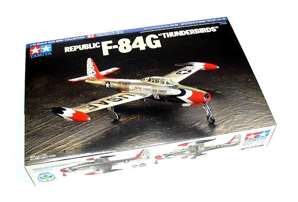 Tamiya Aircraft Model 1/72 Airplane Republic F-84G THUNDERBIRDS Hobby 60762