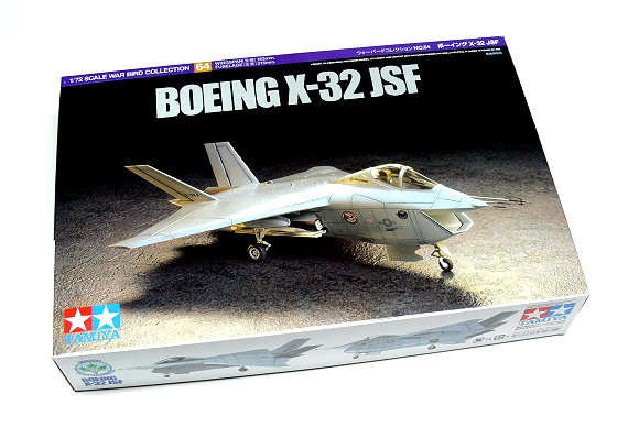 Tamiya Aircraft Model 1/72 Airplane BOEING X-32 JSF Aircraft Scale Hobby 60764