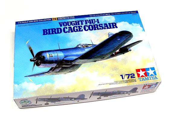 Tamiya Aircraft Model 1/72 Airplane VOUGHT F4U-1 CORSAIR Scale Hobby 60774
