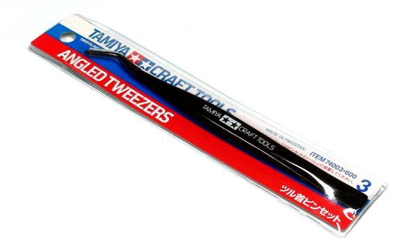 Tamiya Model Craft Tools Angled Tweezers 74003