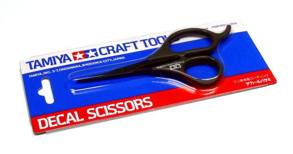 Tamiya Model Craft Tools Decal Scissors 74031
