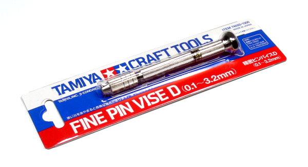 Tamiya Model Craft Tools Fine Pin Vise D (0.1-3.2mm) 74050