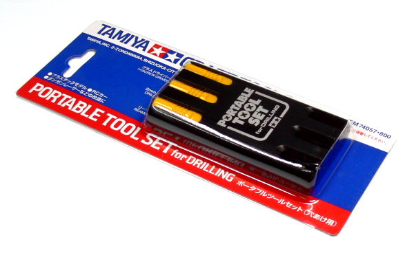 Tamiya Model Craft Tools Portable Tool Set for Drilling 74057