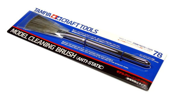 Tamiya Model Craft Tools Cleaning Brush (Anti-Static) 74078