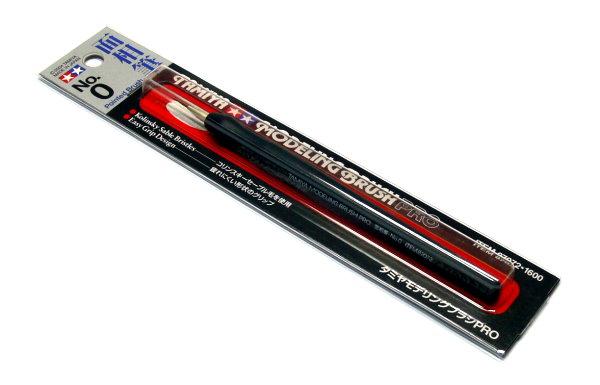Tamiya Model Paints & Finishes Modeling Brush No.0 Pro Pointed Brush 87072