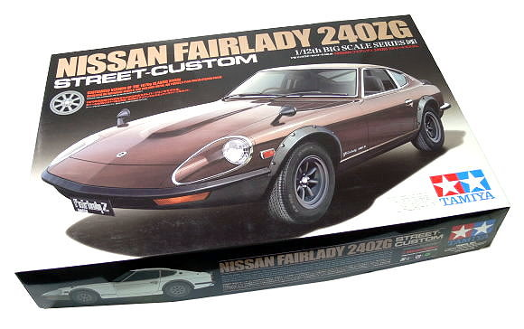 Tamiya Automotive Model 1/12 Car Nissan Fairlady 240ZG Street-Custom Hobby 12051