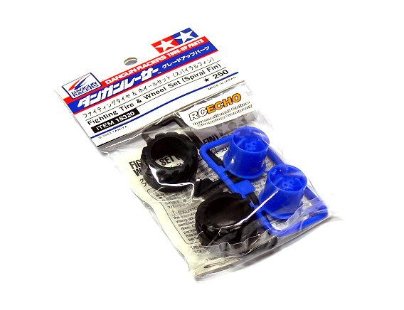 Tamiya Model Dangun Racer Series Parts Fighting Tire & Wheel Set 15320
