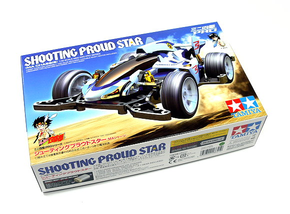 tamiya model mini 4wd racing car pro 1 32 shooting proud star ma