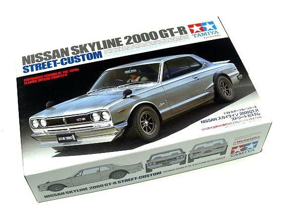 Tamiya Automotive Model 1/24 Car Nissan Skyline 2000 GT-R Street-Custom 24335