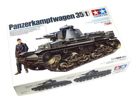 Tamiya Military Model 1/35 Panzerkampfwagen 35(t) Scale Hobby 25112