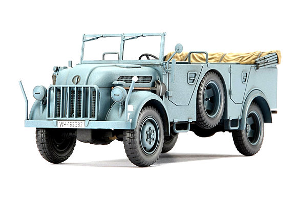 Tamiya Military Model 1/48 German Steyr Type 1500A/01 (Finished Model) 26538