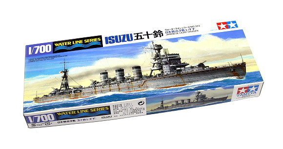 Tamiya Military Model 1/700 War Ship Japanese Light Cruiser ISUZU Hobby 31323