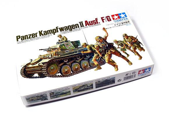 Tamiya Military Model 1/35 Panzer Kampfwagen II Ausf. F/G Hobby 35009